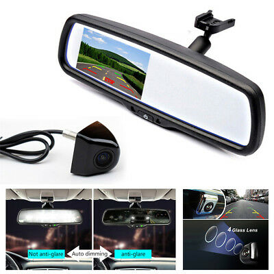 "4.3"" TFT LCD Auto Dimming Car Rear View Mirror Monitor+HD 170° Rear-View Camera"