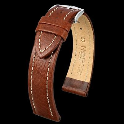 Hirch Buffalo Genuine Calf Leather Brown Black Watch Strap 18Mm 20Mm 22Mm 24 Us