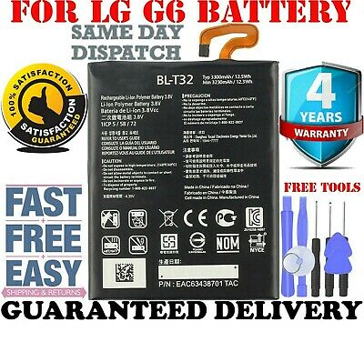 **NEW** 3.8V Replacement Battery 3300mAh For LG G6 H870 H870S H870K H870V