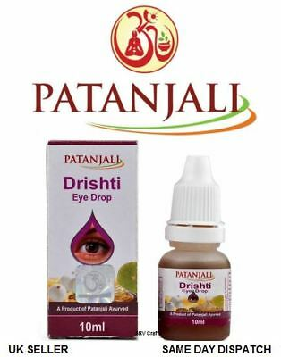 Patanjali Drishti Eye Drop Increases Eyesight Avoids Air Pollution Spectacles