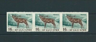 Bulgaria,1958,Deer,,error perforat. not listed,MNH