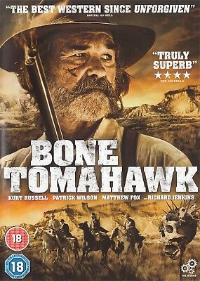 Bone Tomahawk - Kurt Russell - NEW Region 2 DVD