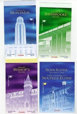 Lot of Booklets Canada Stamps MNH Postage lot Face Value $15+