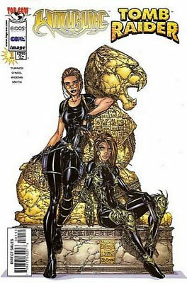 Witchblade & Tomb Raider (2005 One-Shot) #   1 Near Mint (NM) (CvrA) Image MODN