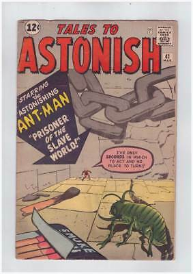 Tales to Astonish # 41  Prisoner of the Slave World !  grade 4.0 scarce book !