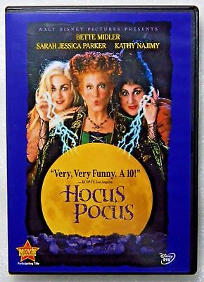 Hocus Pocus (DVD, 2002, Closed-Captioned) Disney