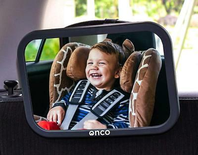 Onco Baby Car Mirror - Peace of mind to keep an eye on baby in a rear facing