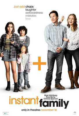 Instant Family (DVD,2018) PRE-ORDER Releases Ships 3/5/19 NEW SEALED