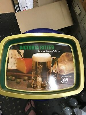 Victoria Bitter Tray Vb Great Condition See Pics No Rust Couple If Minor Dings