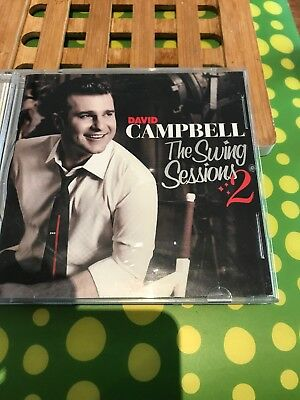 David Campbell The Swing Sessions 2 Cd Disc Like New