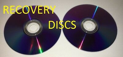 Windows 7 OEM recovery discs for Dell XPS L502x L702x Laptop +Partition