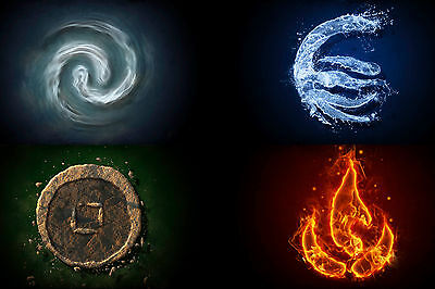 Avatar the last airbender POSTER 61 X 91 CM ( 24X36 INCH)
