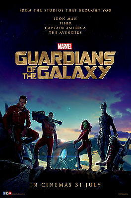 Guardians Of The Galaxy Poster 61 X 91 Cm ( 24X36 Inch)