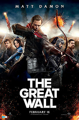 The Great Wall Poster 61 X 91 Cm ( 24X36 Inch)