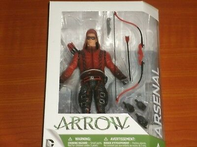 DC Comics Collectibles: Arrow TV Series #7 ARSENAL 'Roy Harper / Colton Haynes'