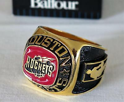 huge discount 6e16f c3114 LICENSED NBA BALFOUR Houston Rockets Souvenir Ring Paperweight NEW IN BOX!!