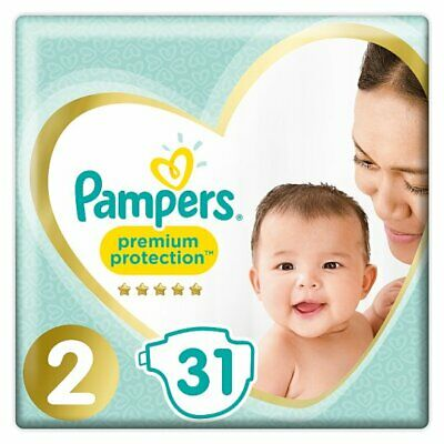 Pampers Premium Protection Baby Dry Nappy Nappies Size 2  4-8kg   54 nappies