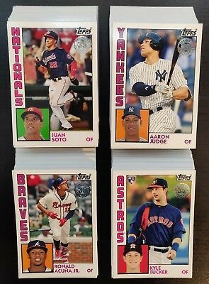 Finish.your.set>2019 Topps Series 1> 1984 Topps Insert Singles > Pick Your Cards