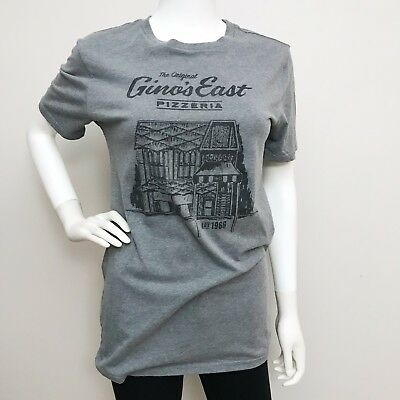 da1d7f53ab70f Local Pride By Todd Snyder Gray T-Shirt Size Small Chicago Gino s East Pizza
