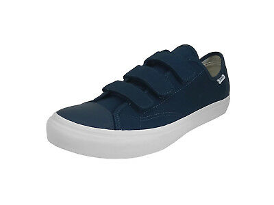 7fb113cb11 VANS STYLE 23 V Canvas Dress Blues Navy White Men s 9.5 Skate Shoes ...