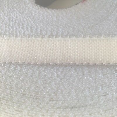 White Lingerie Elastic 16mm Poly Nylon elastane Picot Edge Full Roll 25m