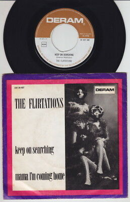 The FLIRTATIONS * Keep On Searching * 1970 Northern SOUL MOD * Dutch 45 * Hear i