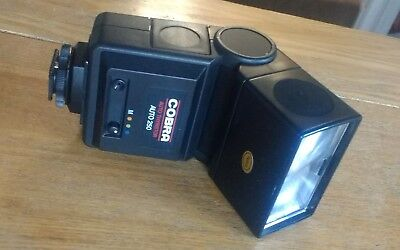 Bounce Zoom Thyristor Auto & Manual Flash, Hot Shoe for many Manual Film Cameras