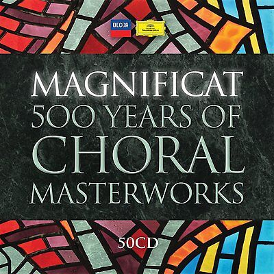 Magnificat  500 Years of Choral Masterworks NEW / SEALED 50 CD Limited Edition,
