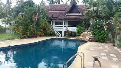 Koh Samui 3 bed villa 200m from the beach with pool - For sale or exchange