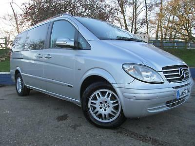 Mercedes-Benz VIANO AMBIENTE CDI LWB DIESEL LEATHER SEATS SERVICE HIS