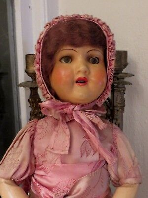 Delightful Vintage French Mademoiselle ~ Poupee Ancienne Reyu ~  Doll~ Ry 88