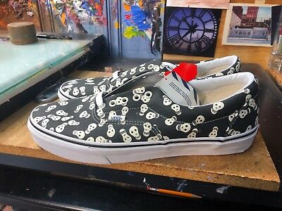 ed66a8486f VANS ERA (VAN Doren) Repeat Skull Black White Size US 11 Men s VN ...