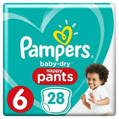 Pampers Premium Protection Baby Dry Nappy Nappies Size 6  15+ kg   32 nappies