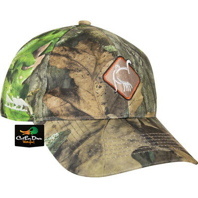 Drake Waterfowl Ol Tom Turkey Gear Dura Lite Logo Hat Cap Nwtf Obsession  Camo 7579491530fa
