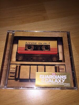 Guardians Of The Galaxy - Awesome Mix Vol.1 CD Soundtrack Filmmusik Ungeöffnet