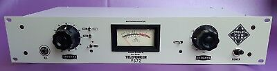 Telefunken V672 Vintage Preamp with DI Input, hear Neve 1073 comparison files
