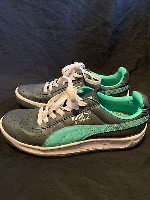 Puma GV Special Girl s Athletic Sneakers Shoes White Teal Mint Green Size  5.5 8604f0d67