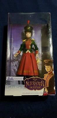 Barbie Doll Nutcracker and the Four Realms Clara's Soldier Uniform NEW
