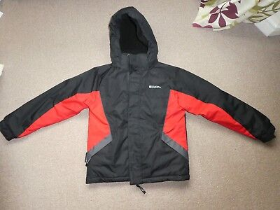 80c90c1a183 Mountain Warehouse Raptor Kids Snowproof Jacket. age 9-10 years black   red