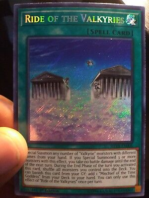Yu-Gi-Oh! - Ride of the Valkyries x1 NM - SHVA-EN006 - Secret Rare - 1st Ed