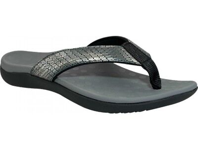 Scholl Orthaheel Sonoma II - Pewter Snake
