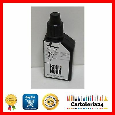 | KOH-I-NOOR | INCHIOSTRO PER PENNA A CHINA 20ml NERO RICARICA NUOVO ORIGINALE ¨