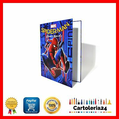 Raccoglitore Anelli A4 Spiderman Homecoming Fantasia Spiderman Sfondo Blu ¨