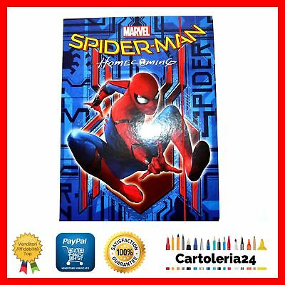 Carpetta Con Elastico Spiderman Homecoming Seven Fantasia Spiderman Sfondo Blu ¨