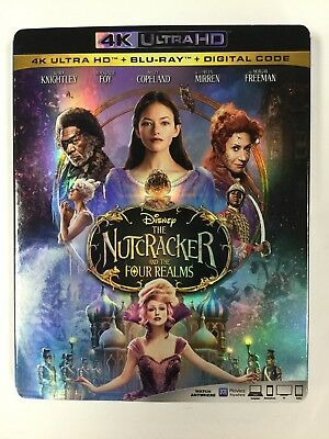 The Nutcracker and the Four Realms, 4K HD Disc ONLY, NO DIGITAL OR BLU-RAY!