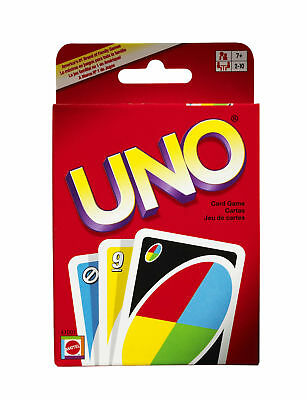 UNO CARDS Original Family Fun Playing Card Game Mattel Entertainment All Ages