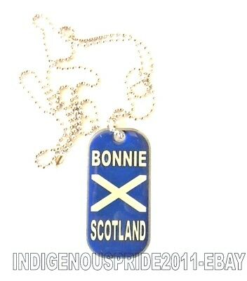 Scotland Flag Tag/Necklace-Unisex necklace.Hurry b4 we sell out!Great gift