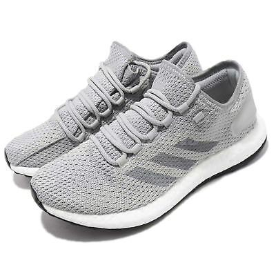 separation shoes 68ad9 2b648 ADIDAS PUREBOOST CLIMA Grey White Men Running Casual Shoes Sneakers BY8898