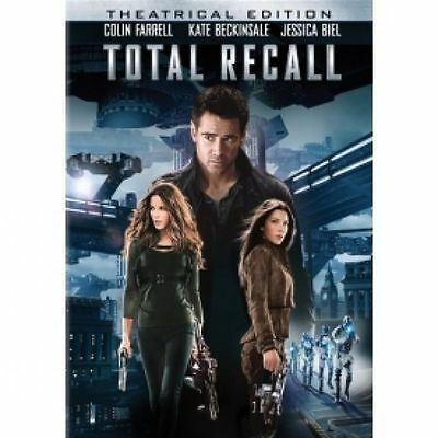 Total Recall (DVD, 2012) new and sealed freepost