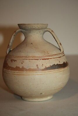 ANCIENT GREEK POTTERY AMPHORA 4th CENTURY BC